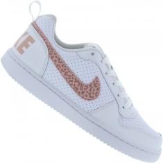 Tênis Nike Infantil (Menina) Court Borough Low Casual