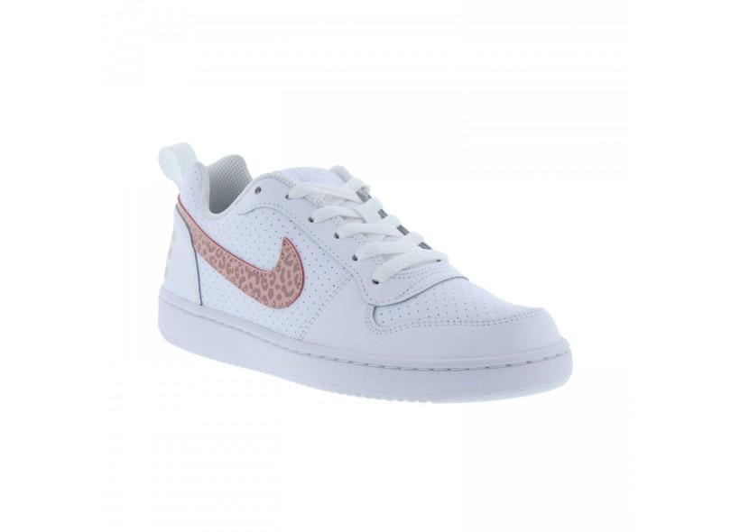 fa5385f6b0c Tênis Nike Infantil (Menina) Casual Court Borough Low