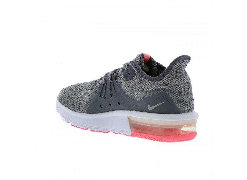 5ea993f609ff3 Tênis Nike Infantil (Menina) Corrida Air Max Sequent 3
