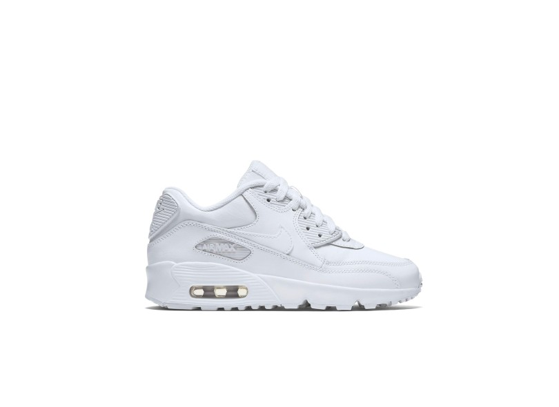 Tênis Nike Infantil (Menino) Air Max 90 Leather Casual