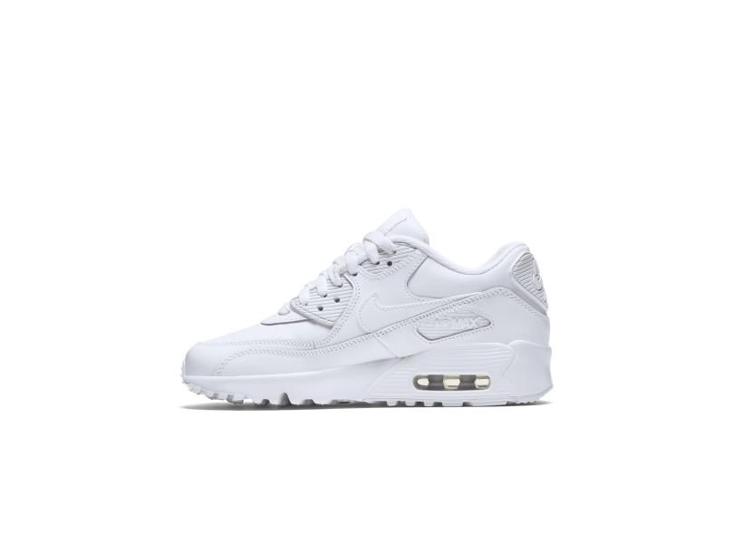 Tênis Nike Infantil (Menino) Casual Air Max 90 Leather 0e1c10e6fb22b