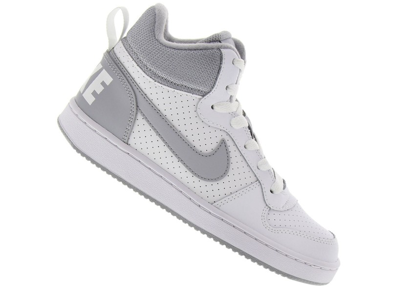 Tênis Nike Infantil (Menino) Casual Court Borough Mid dbe786dff1c