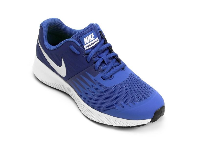 d0c521421 Tênis Nike Infantil (Menino) Corrida Star Runner GS