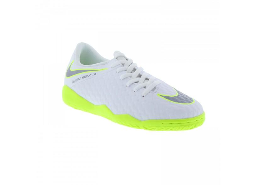 Tênis Nike Infantil (Menino) Futsal HypervenomX Phantom 3 Academy d9709cf2cb41b