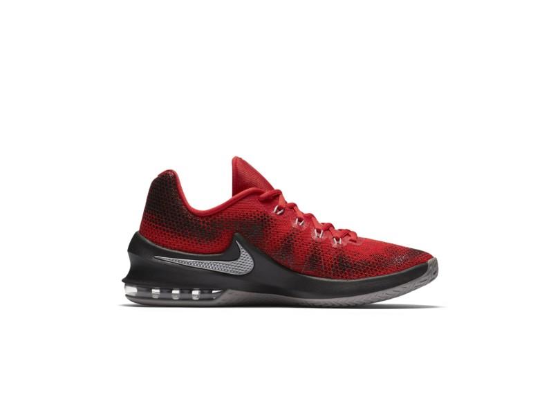 44d0b1e6b2 Tênis Nike Masculino Basquete Air Max Infuriate Low