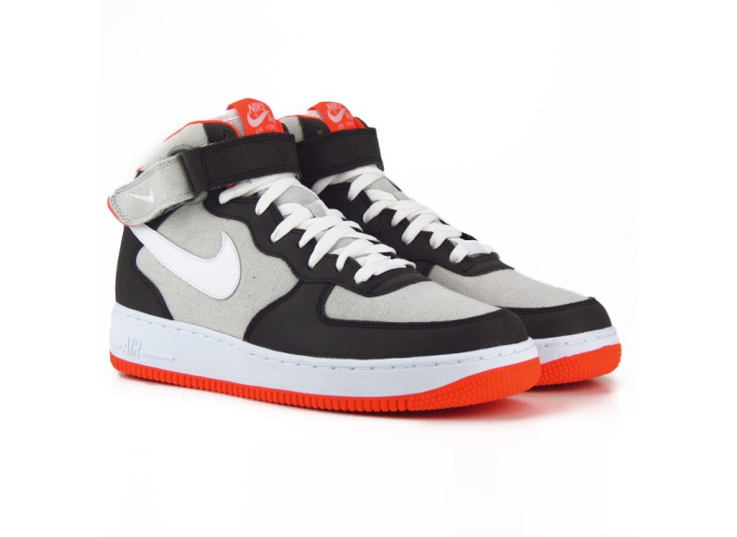b71960c0712 Tênis Nike Masculino Casual Air Force 1 Mid 07