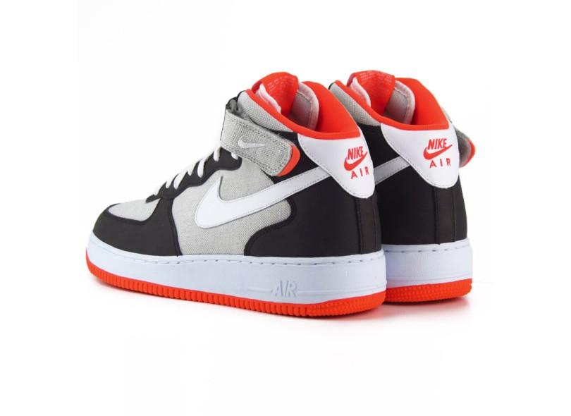 5dad7b0030438 Tênis Nike Masculino Casual Air Force 1 Mid 07
