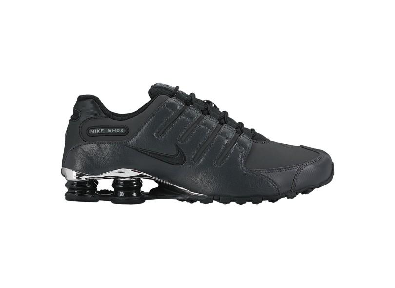 b39d172fbde Tênis Nike Masculino Casual Shox Nz Premium