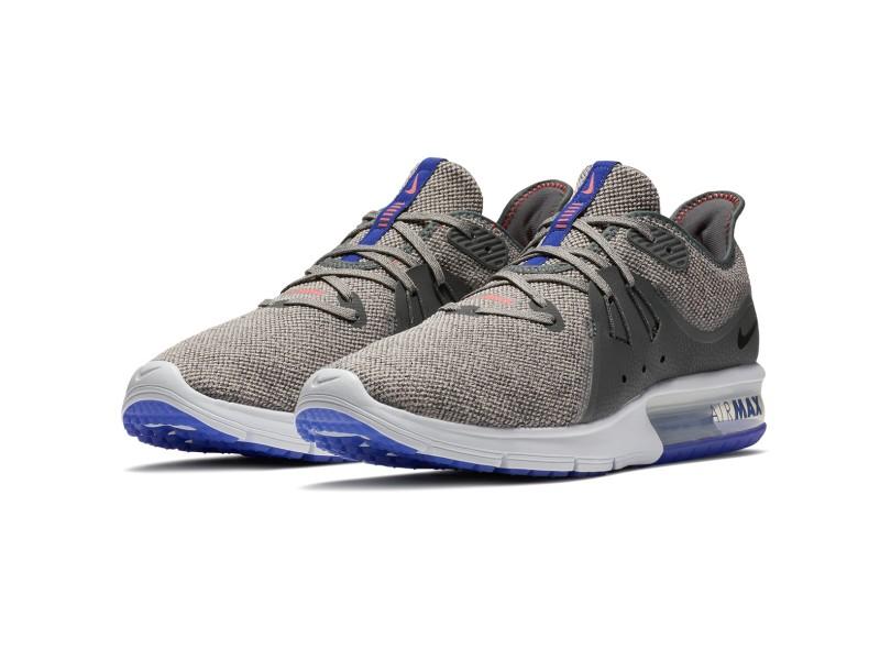 579ae46fee Tênis Nike Masculino Corrida Air Max Sequent 3