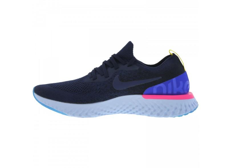 61f14f3da9 Tênis Nike Masculino Corrida Epic React Flyknit