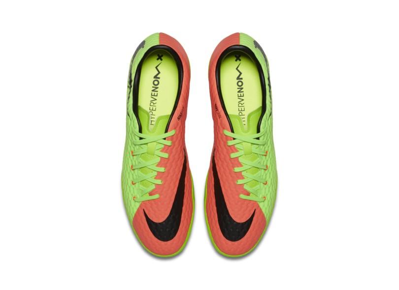 Tênis Nike Masculino Futsal HyperVenomX Phelon III d516aeef84980