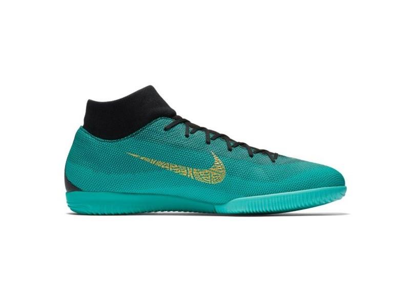 c6f00ed3b9c Tênis Nike Masculino Futsal MercurialX Superfly 6 Academy CR7