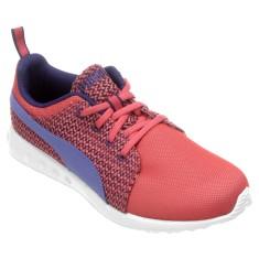 Tênis Puma Feminino Carson Runner Knit Caminhada