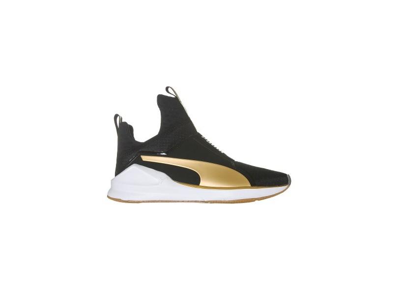 dc568e78c Tênis Puma Feminino Casual Fierce Gold