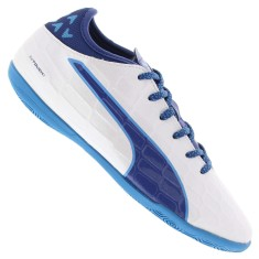 Tênis Puma Infantil (Menino) Evotouch 3 IT Futsal 45eea61643af7