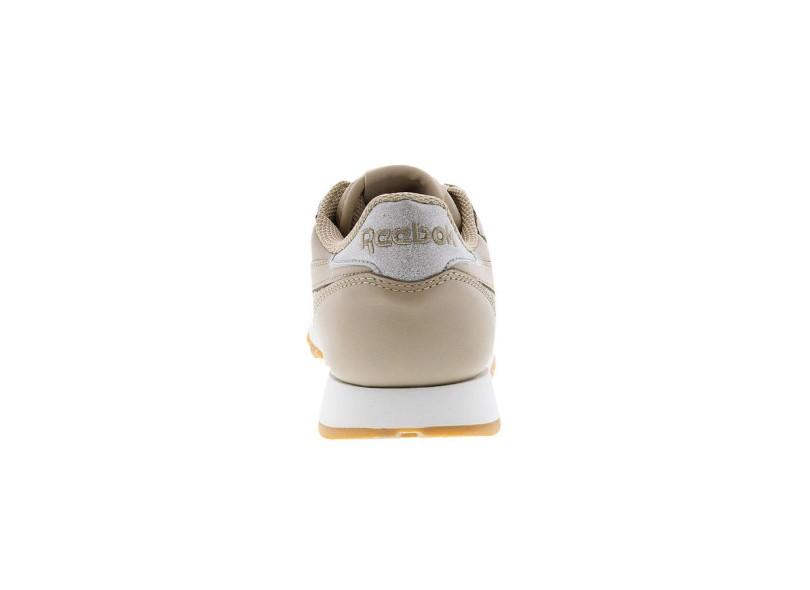 98646fee9fe Tênis Reebok Feminino Casual CL Leather Met Diamond