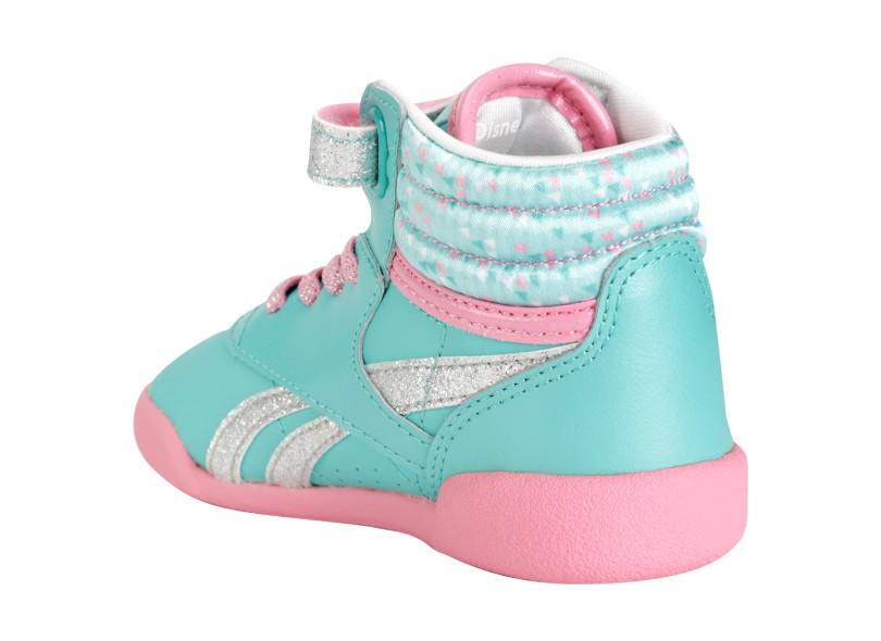 3335e54d5e9 Tênis Reebok Infantil (Menina) Casual Frozen F S Hi