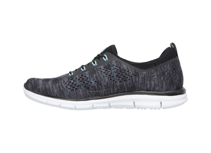 c14b5934e2 Tênis Skechers Feminino Academia Stretch Fit Glider Deep Space