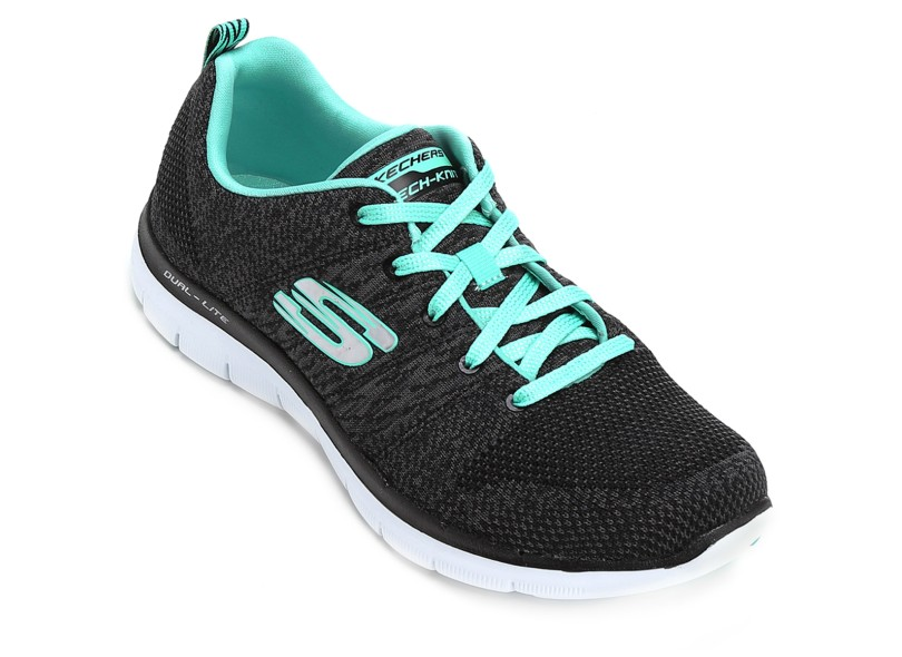 f0249cd6d9 Tênis Skechers Feminino Caminhada Flex Appeal 2.0 High Energy