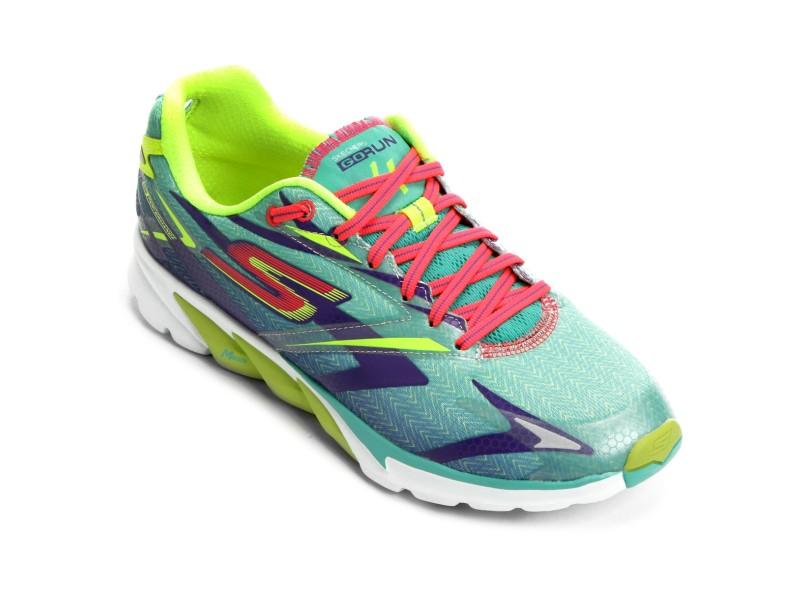 Tênis Skechers Feminino Corrida GO Run 4 66b22f0c714e4