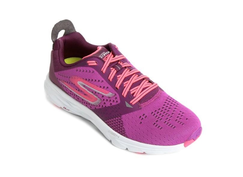 586436991e Tênis Skechers Feminino Corrida Go Run Ride 6