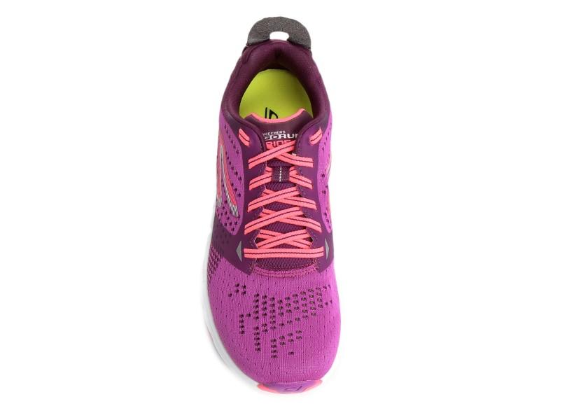 3480888a08876 Tênis Skechers Feminino Corrida Go Run Ride 6