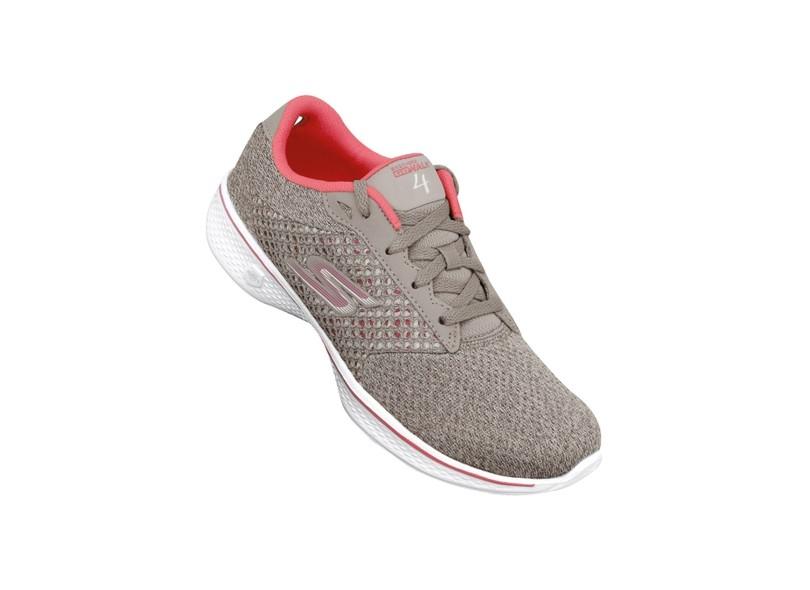 05f2f32be9 Tênis Skechers Feminino Corrida Go Walk 4