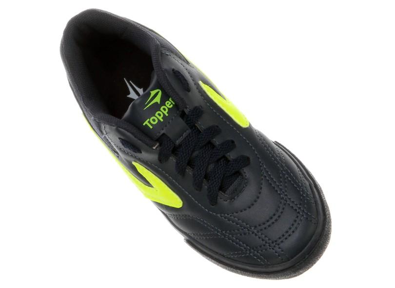 Tênis Topper Infantil (Menino) Futsal Dominator III 0269044d77775