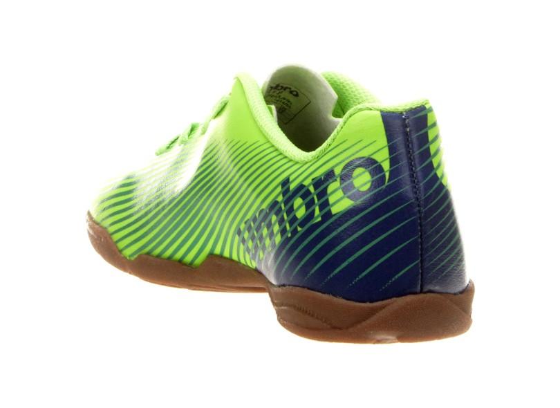 16ab4b734b Tênis Umbro Infantil (Menino) Futsal Speed II