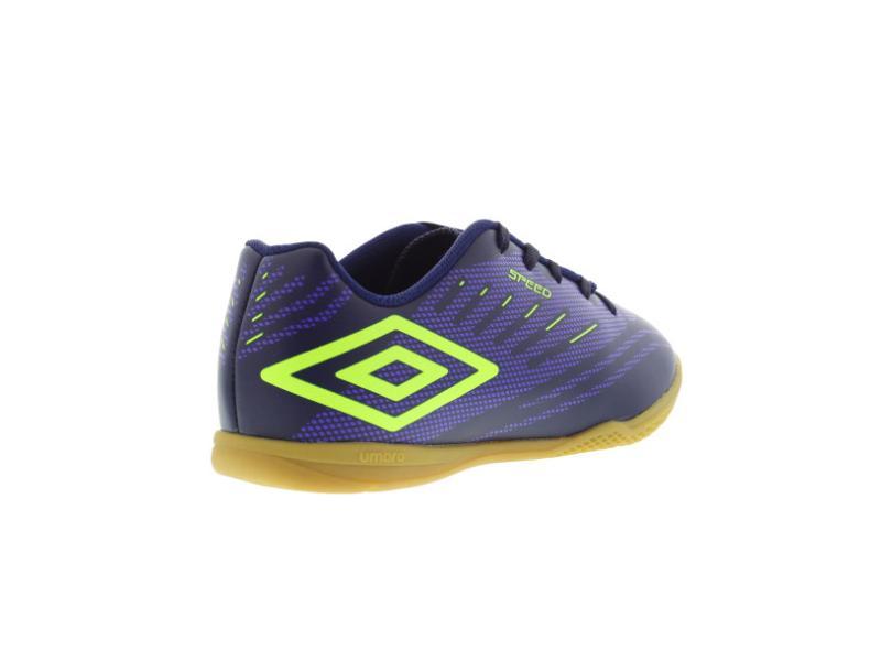 Tênis Umbro Infantil (Menino) Futsal Speed IV e8a5a20673fb5