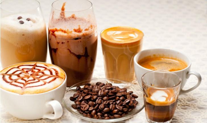 Tipos de bebidas e variações do café