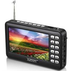 """TV LCD 4,3"""" Exbom Portatil MTV-43A USB"""