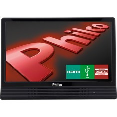 "Foto TV LED 14"" Philco PH14E10DB 1 HDMI USB Frequência 60 Hz"