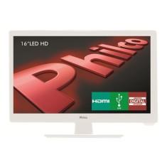 "TV LED 16"" Philco PH16D10DB 1 HDMI USB PC"