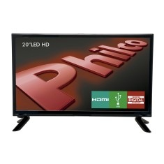 "TV LED 20"" Philco PH20M91D 1 HDMI USB Frequência 60 Hz"