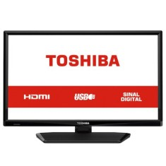 "Foto TV LED 24"" Semp Toshiba 24L1700 1 HDMI USB"
