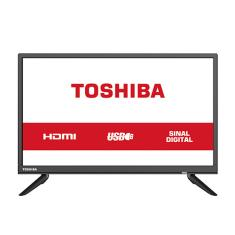 """TV LED 24"""" Toshiba 24L1850 2 HDMI USB"""