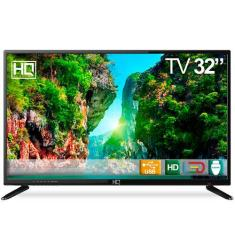 "TV LED 32"" HQ HQTV32 3 HDMI USB Frequência 60 Hz"