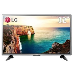 "Foto TV LED 32"" LG 32LJ520B 2 HDMI USB Frequência 60 Hz"