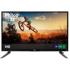 "TV LED 32"" Philco PH32C10DG 3 HDMI USB LAN (Rede)"