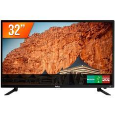 """TV LED 32"""" Philco PTV32C30D 2 HDMI USB Frequência 60 Hz"""