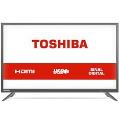 "TV LED 32"" Toshiba 32L1700 2 HDMI USB LAN (Rede)"