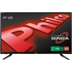 "TV LED 39"" Philco PH39U21DG 3 HDMI LAN (Rede) USB"