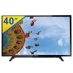 "Foto TV LED 40"" Semp Toshiba Full HD DL4053F 2 HDMI LAN (Rede)"