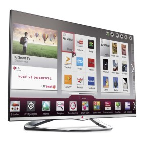 "Foto Smart TV LED 3D 55"" LG Cinema Full HD 55LA6610"