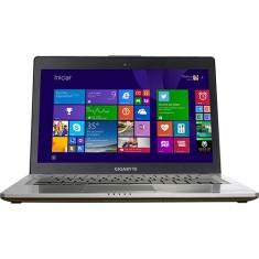 """Ultrabook Gigabyte U U24F Intel Core i5 4200U 14"""" 8GB HD 750 GB SSD 128 GeForce GT 750M"""
