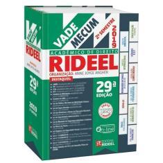 Vade Mecum Acadêmico de Direito Rideel - 2º Semestre 2019 - 29º Edição - Tradicional - 9788533956032