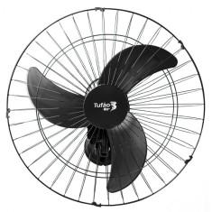 Ventilador de Parede Loren Sid Tufão 60 M PT 60 cm 3 Pás 3 Velocidades