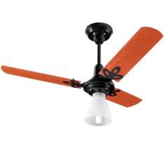 Ventilador de Teto Arge Economic Ventus 3 Pás 1 Velocidade