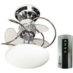 Ventilador de Teto com Controle Remoto Treviso Atenas 41 cm 3 Pás 3 Velocidades